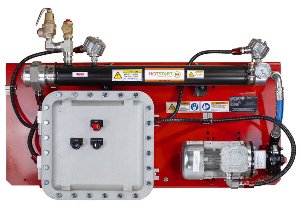 IECEx systems designed for hazardous locations and designed to handle the largest engine heating applications.