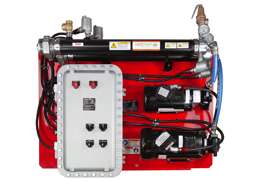 Hotstart's largest capacity UL C/US combination heating system designed  for hazardous locations in North America.