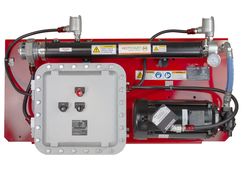 Hotstart's OLE is the largest capacity UL C/US oil heating system designed for hazardous locations in North America.