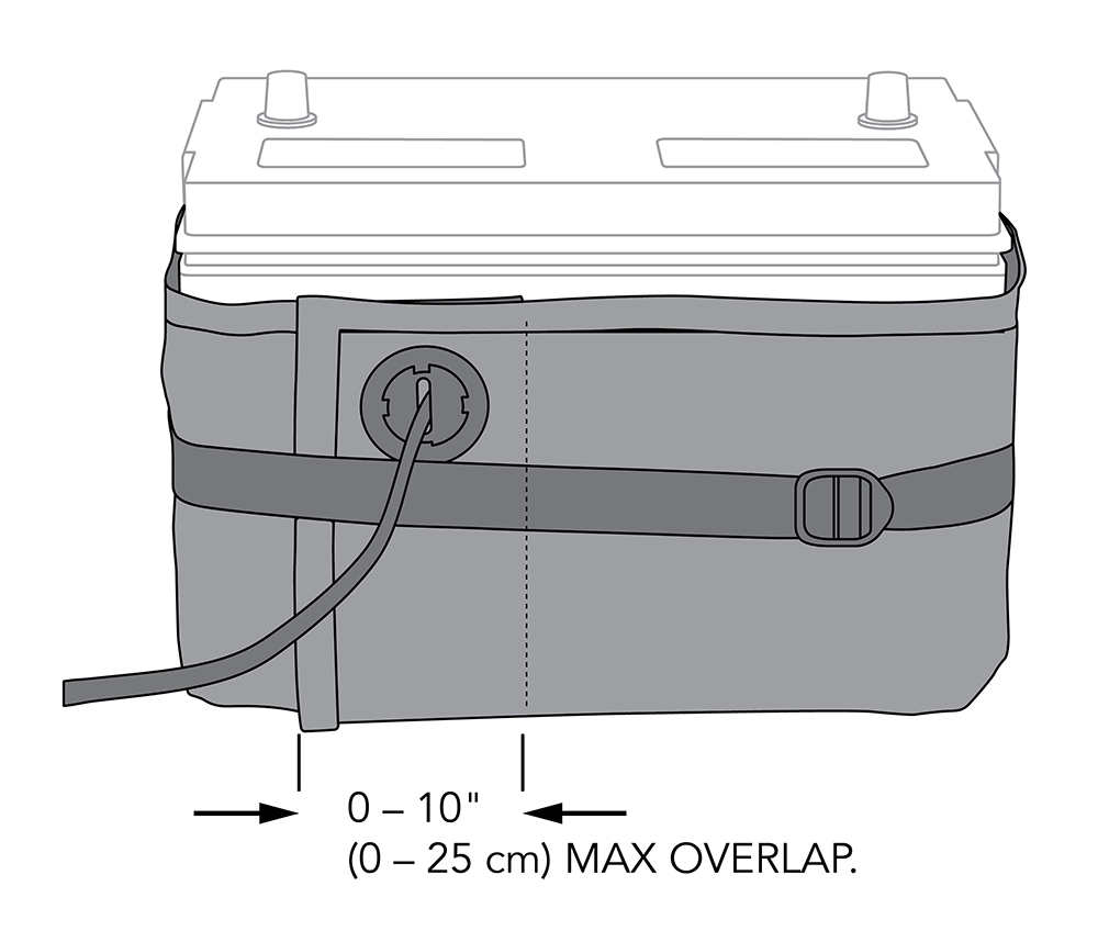 HOTSTART-UL-Battery-Wrap-Installed-with-Buckle